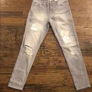 Juicy couture size 6 gray skinny